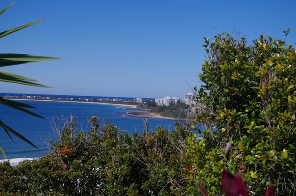 Home exchange in,Australia,Maroochydore BC,View from rooftop to Mooloolaba