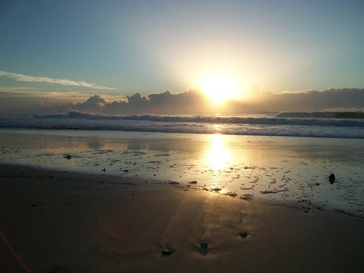 Home exchange in,Australia,VALLA BEACH,Morning light on North Valla Beach.