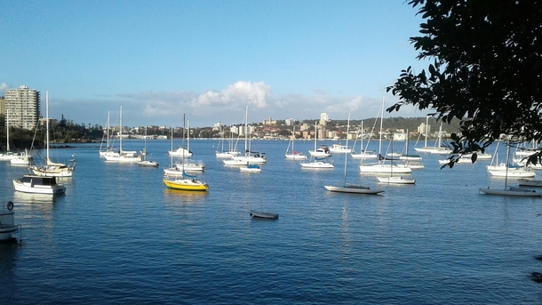 Home exchange in,Australia,Balgowlah Heights, Sydney,Manly Cove from scenic walk near 40 Baskets Beach