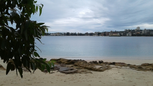 Home exchange in,Australia,Balgowlah Heights, Sydney,Looking to Manly Cove from Reef Beach