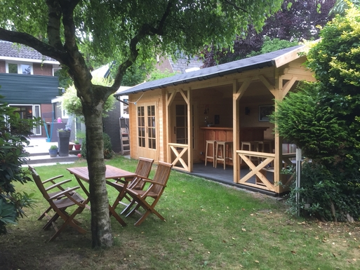 BoligBytte til,Netherlands,Amsterdam, 30m, S,Our new garden lounge area
