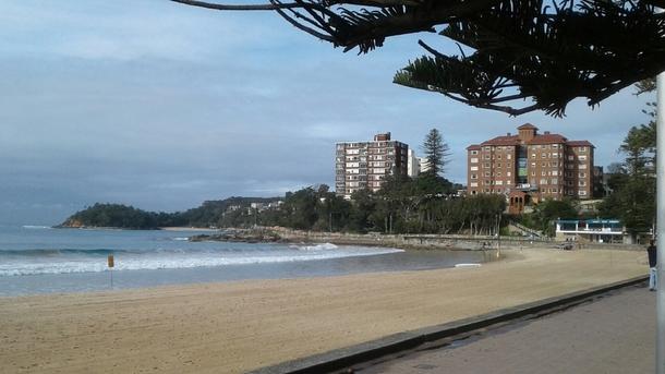 Home exchange in,Australia,Balgowlah Heights, Sydney,Bright winter's day, Manly Ocean Beach