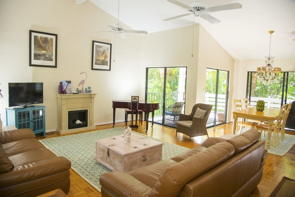 Huizenruil in ,United States,Sanibel,Living and dining room