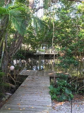 Huizenruil in ,United States,Sanibel,Dock and canal