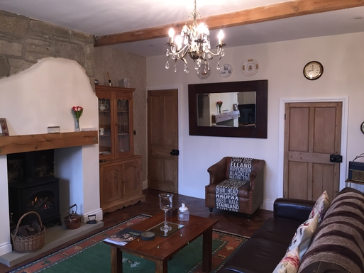 Home exchange in,United Kingdom,Halifax,The spacious living room is homely and comfortable