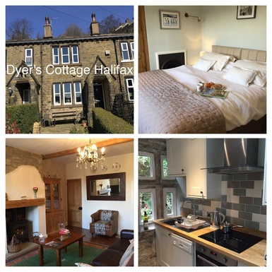 Home exchange in,United Kingdom,Halifax,The compact kitchen has everything you need