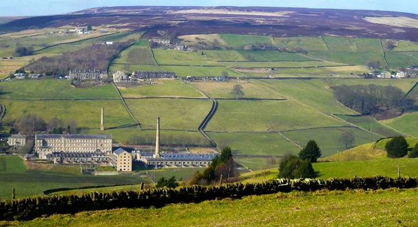 Home exchange in,United Kingdom,Halifax,Luddenden's mills are now apartments or offices
