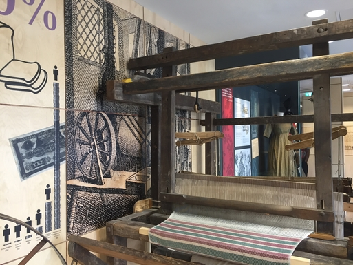 Home exchange in,United Kingdom,Halifax,The museum shows the history of hand loom weavers
