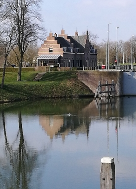 Koduvahetuse riik Holland,vianen, utrecht,authentic Lock keeper house,Home Exchange Listing Image