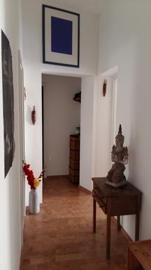 corridor seen from main entrance