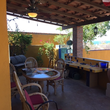 BoligBytte til,Mexico,La Paz,patio and dining area