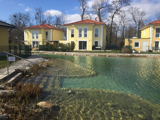 Home exchange in Austria,Tattendorf, Lower Austria,House with natural pool 45 km from Vienna,Home Exchange & House Swap Listing Image