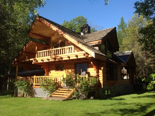 Home exchange in Canada,Ft Steele, BC,LOG HOME IN CANADIAN ROCKIES,Home Exchange & Home Swap Listing Image