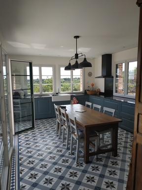Huizenruil in ,France,BLOIS,Panoramic kitchen