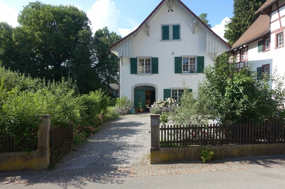 Wohnungstausch in Schweiz,Andelfingen, Zürich,Picturesque house with a large garden,Home Exchange Listing Image