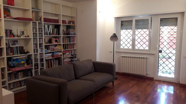 Kodinvaihdon maa Italia,roma, lazio,LA NOSTRA CASA E' ACCOGLIENTE E SILENZIOSA,Home Exchange Listing Image