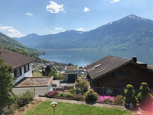 Koduvahetuse riik Šveits,Walchwil, Zug,Stunning lake and mountain view,Home Exchange Listing Image