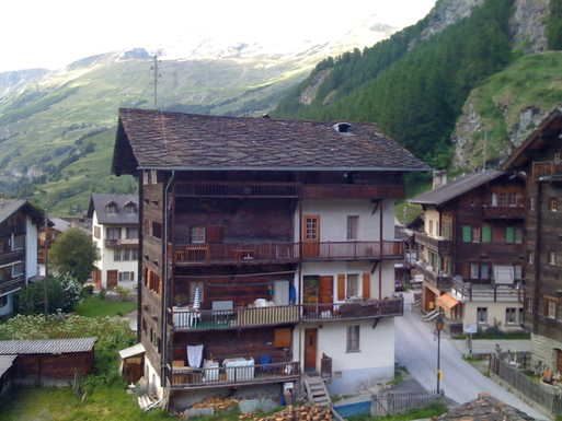 Switzerland,  Val d'Hérens, A 19th century house