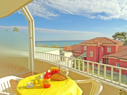 Home exchange in,Italy,Santo Stefano al Mare,View from the Gourmet Terrace