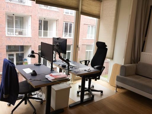 Home exchange in,Belgium,Antwerpen,A sleepsofa in the home office