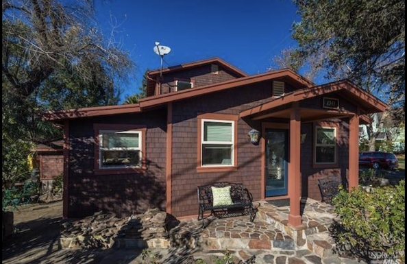 Échange de maison en États-Unis,Calistoga, CA,Adorable Napa Valley cottage in Calistoga, CA,Echange de maison, photos du bien