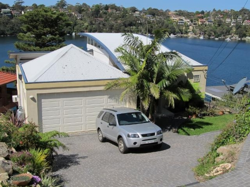 DEEP WATERFRONT ON GYMEA BAY (part of Pt. Hacking)