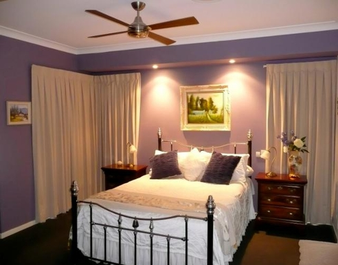 Home exchange in,Australia,BANKSIA BEACH,Master bedroom