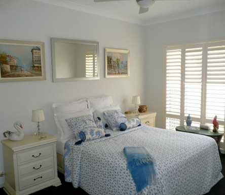 Home exchange in,Australia,BANKSIA BEACH,Guest bedroom 1