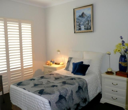 Home exchange in,Australia,BANKSIA BEACH,Guest bedroom 2 (King single bed)