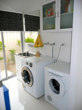 Home exchange in,Australia,BANKSIA BEACH,Laundry