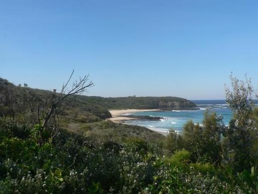 Home exchange in,Australia,ULLADULLA,Looking across Rennies Beach to Lighthouse