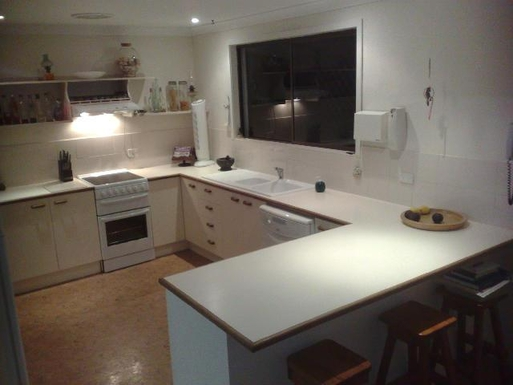 Home exchange in,Australia,PEREGIAN BEACH,kitchen much larger than it looks here