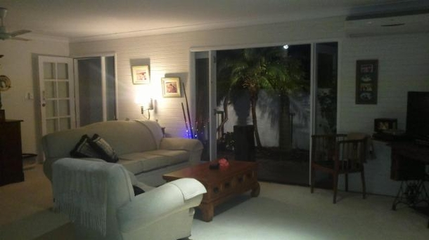 Home exchange in,Australia,PEREGIAN BEACH,from living room to court yard area
