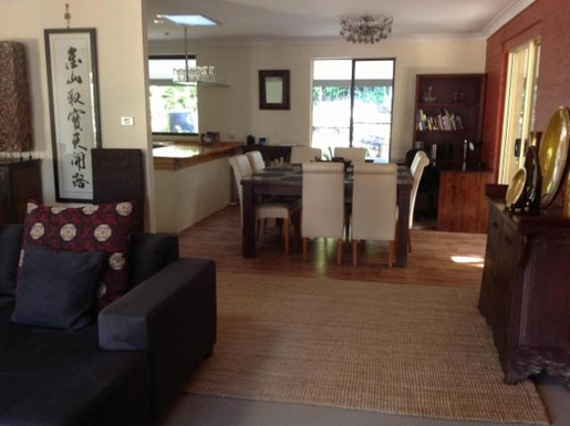 Home exchange in,Australia,BYRON BAY,The dining area