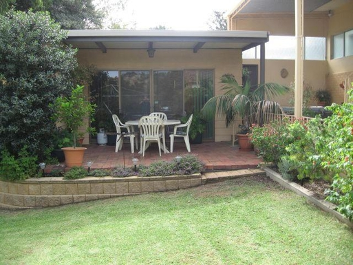 "Home exchange in,Australia,BEDFORD PARK,""Rumpus Room"" Patio."