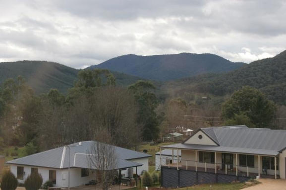 Home exchange in,Australia,BRIGHT,View from the front deck