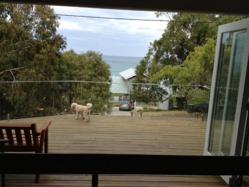 Home exchange in,Australia,LORNE,View from second story balcony