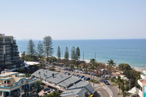 Home exchange in,Australia,MOOLOOLABA,View from front deck looking North.