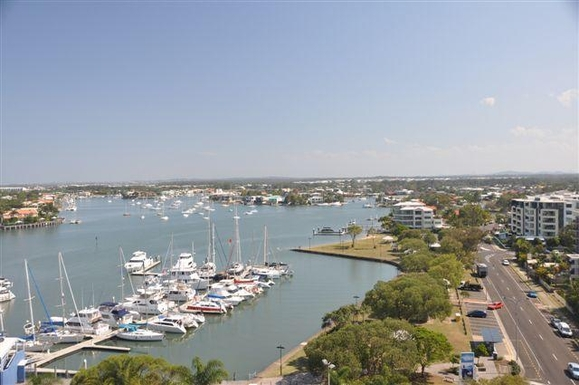 Home exchange in,Australia,MOOLOOLABA,View from main bedroom and #2 bedroom looking Sout