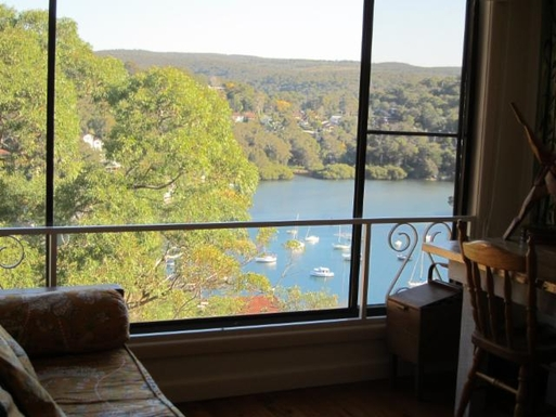 Home exchange in,Australia,GYMEA BAY,View from bedroom 2