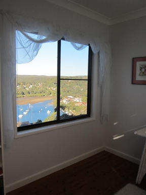 Home exchange in,Australia,GYMEA BAY,View from 3rd bedroom