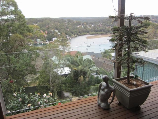 Home exchange in,Australia,GYMEA BAY,View from back balcony
