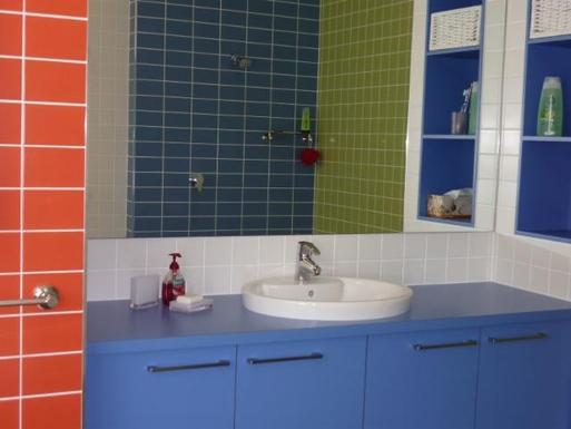Home exchange in,Australia,WOODGATE,Modern bathroom