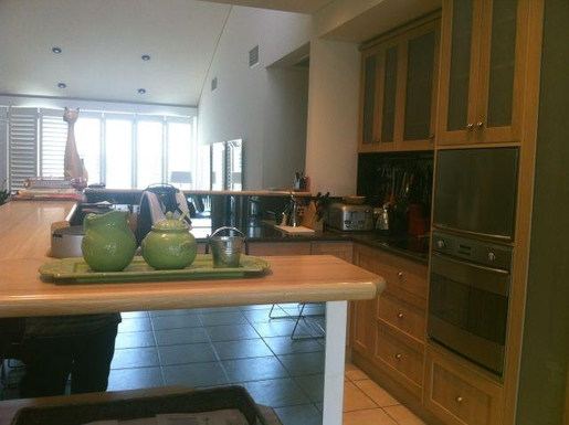 Home exchange in,Australia,GLENELG NORTH,Kitchen is much bigger than this photo represents!