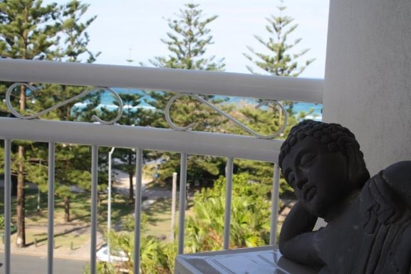 Home exchange in,Australia,NORTH BURLEIGH,View from balcony.
