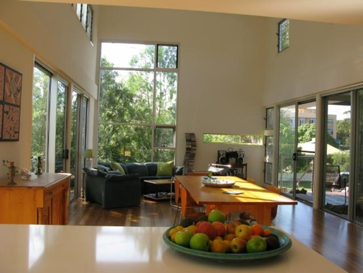 Home exchange in,Australia,WOORIM,Views from kitchen