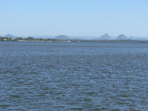 Home exchange in,Australia,WOORIM,Looking west across to Glasshouse Mountains