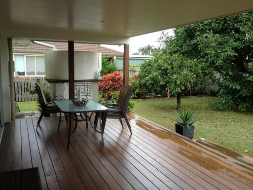 Home exchange in,Australia,URANGAN,Large Outdoor Deck at rear of house