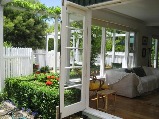 Home exchange in,Australia,ORFORD,courtyard