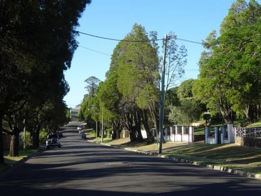 Home exchange in,Australia,WINDSOR,Tree lined Mackay Street.